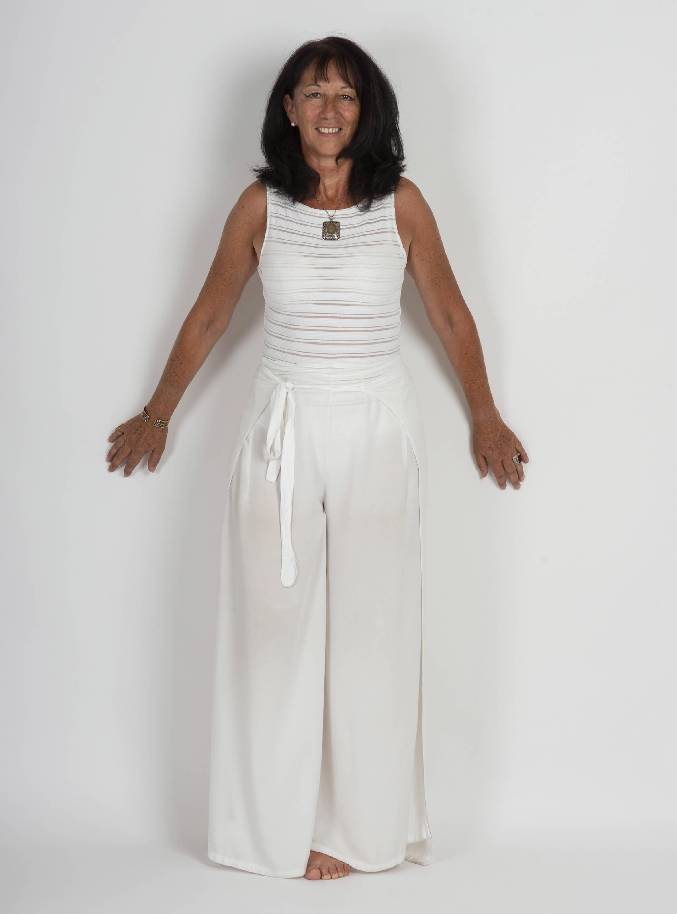 Véronique Hardy, enseignante de Yoga diplômée de la FNEY